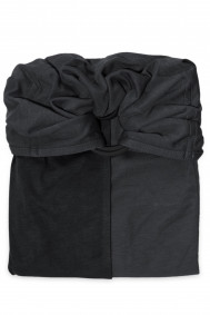 Little Baby Wrap Without a Knot - Charcoal Grey, Black