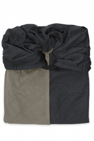 Little Baby Wrap Without a Knot - Charcoal Grey, Olive