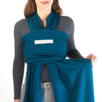 After crossing, grasp the inner strap by the top side.